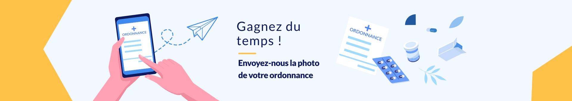 Click&Collect  ordonnance pharmacie Perrache Carnot Lyon 2
