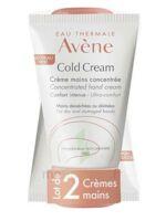 Avène Eau Thermale Cold Cream Duo Crème Mains 2x50ml à Lyon