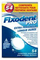 Fixodent Pro Comprimés Nettoyant Fraîcheur Longue Durée Pour Prothèse Dentaire B/54 à Lyon