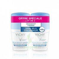 Vichy Déodorant Sans Sels D'aluminium 48h 2 Billes/50ml à Lyon