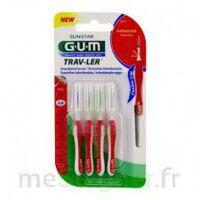 Gum Trav - Ler, 0,8 Mm, Manche Rouge , Blister 4 à Lyon