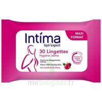 Intima Gyn'expert Lingettes Cranberry Paquet/30 à Lyon